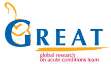 Image result for global research on acute conditions team portugal