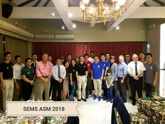 GREAT Italy International Cooperation : SEMS ASM 2018